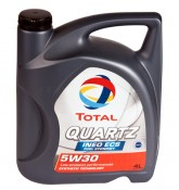 Моторное масло Total QUARTZ INEO ECS 5W-30 4 л.