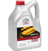 Масло TOYOTA Engine Oil 5W40 5L